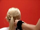 Быстрая прическа на средних волосах (Hairstyle)