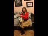 Как завязать шарф, палантин, платок 11
